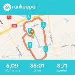 5km running