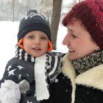 Viks first snow!