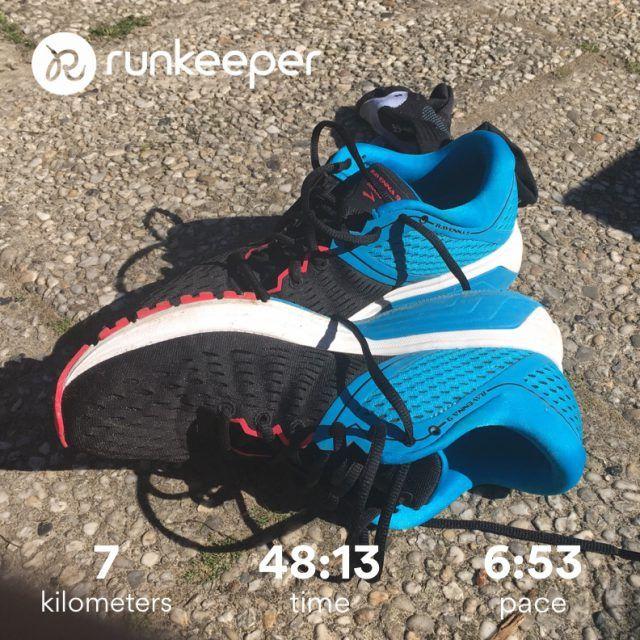 Running on my Ravennas