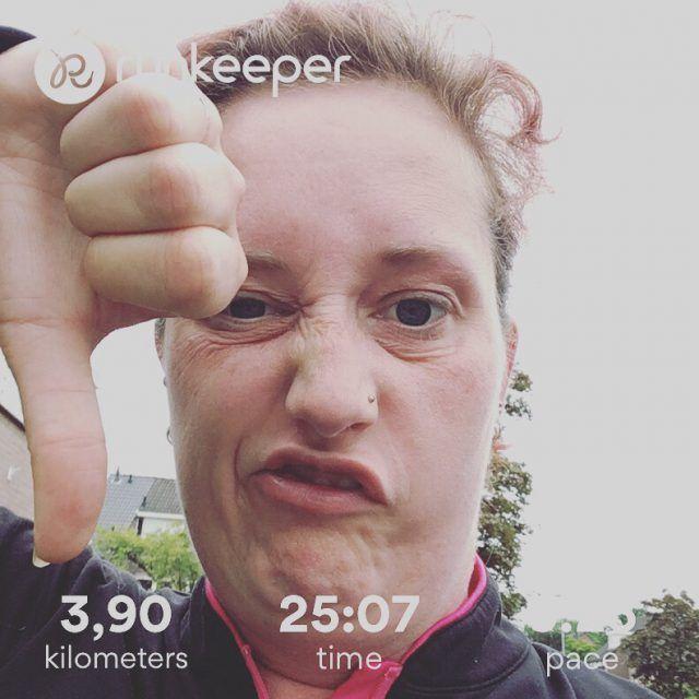 Frustrating run