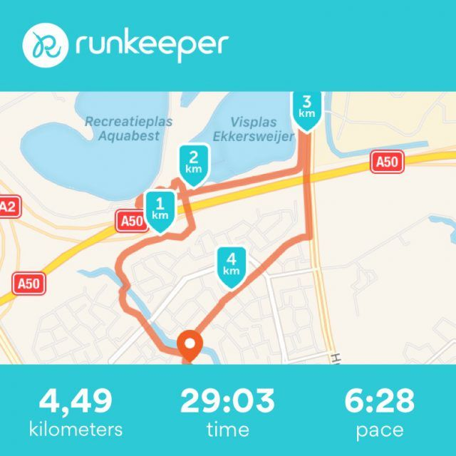 Manual Runkeeper entry