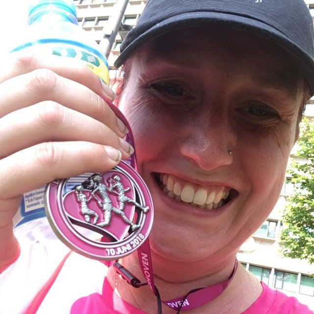 Ladies Run Eindhoven 2018 medal in the pocket!