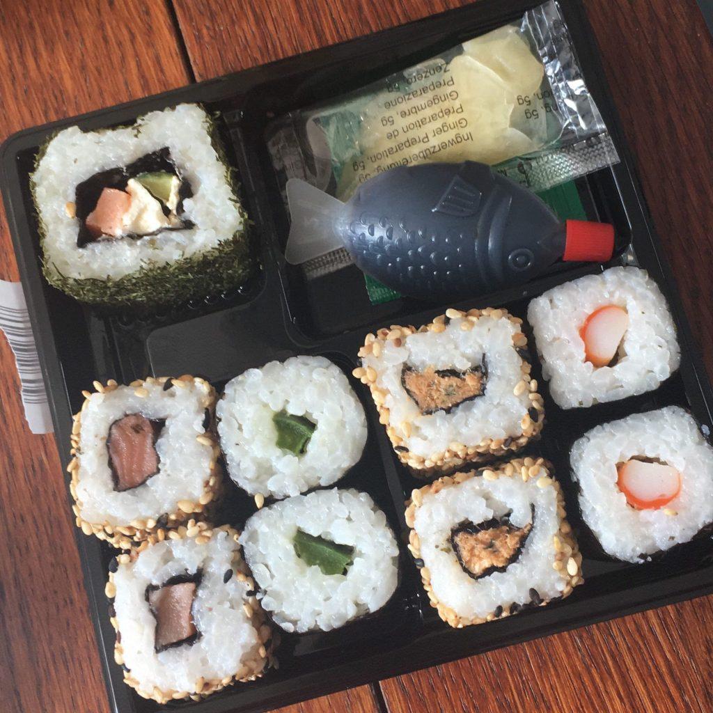Sushi time!!!